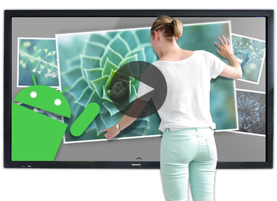 Les écrans interactifs, pour un travail et une éducation 3.0.