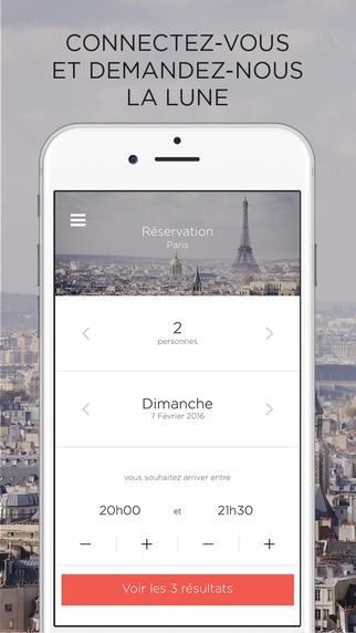 Réserver un restaurant à Paris avec une App Mobile